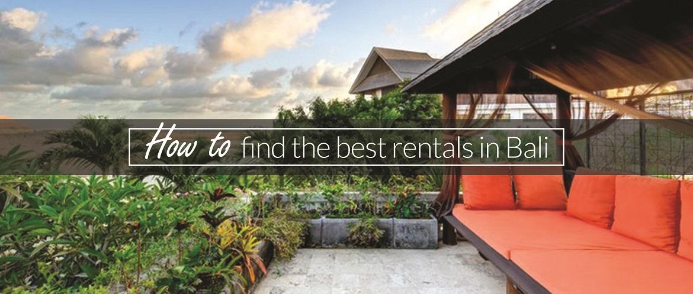 Bali Long Term Rentals