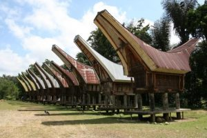 Credit: Wikipedia/ Rumah Adat in South Sulawesi